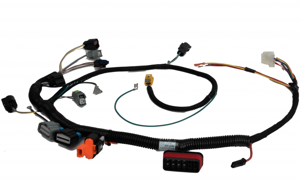 Small engine wire harness assembly manufactured by PCA.